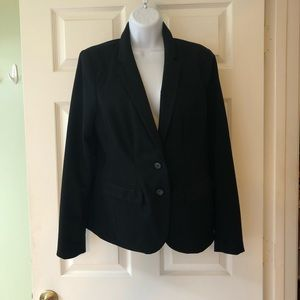Black business blazer